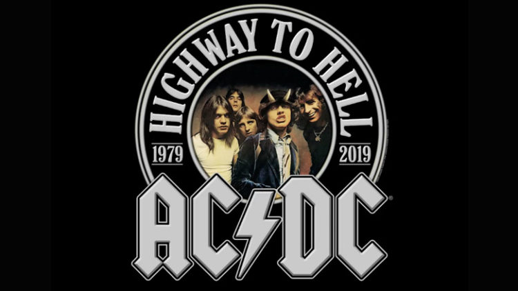AC/DC Highway To Hell 40th Anniversary
