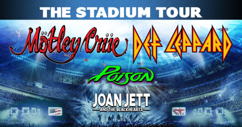 Motley Crue Def Leppard Tour