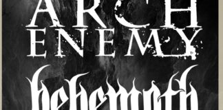 Arch Enemy Behemoth tour